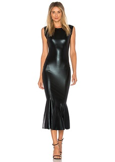 Norma Kamali Sleeveless Midi Dress