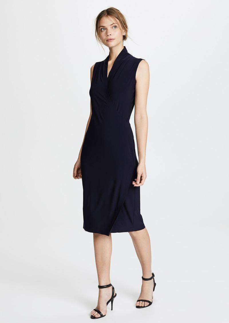 Norma Kamali Norma Kamali Sleeveless Side Drape Dress  7eb5f6648