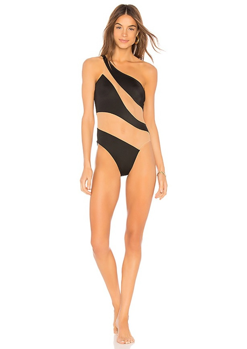 7da228020379f7 Norma Kamali Norma Kamali Snake Mesh Mio One Piece | Swimwear