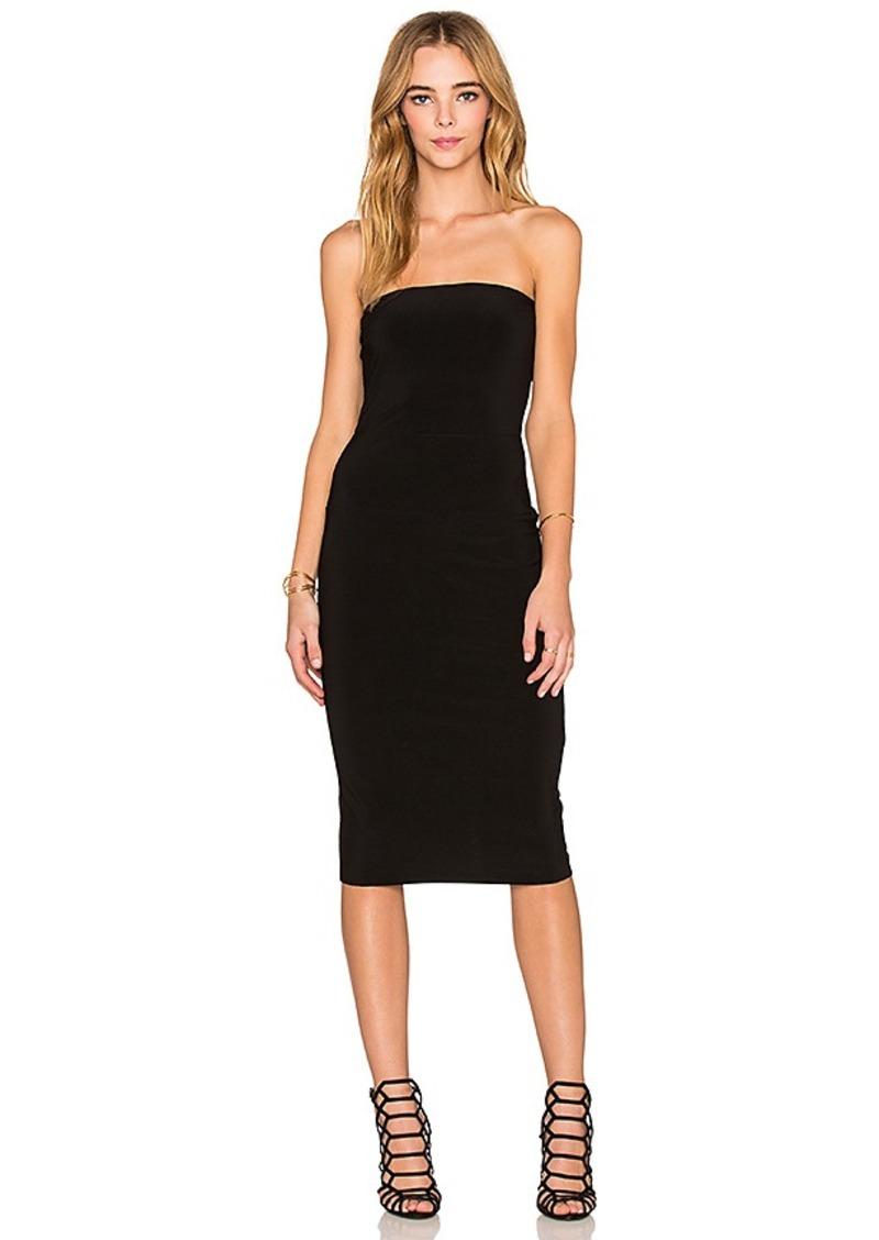 Norma Kamali Norma Kamali Strapless Dress in Black. - size ...