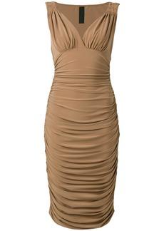 Norma Kamali Tara bodycon dress - Nude & Neutrals