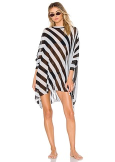 Norma Kamali Turtle Poncho Dress
