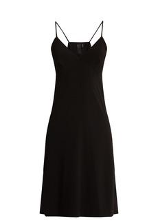 Norma Kamali V-neck jersey dress