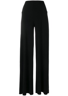 Norma Kamali wide leg high waisted trousers