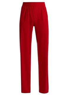 Norma Kamali Side stripe boyfriend track pants
