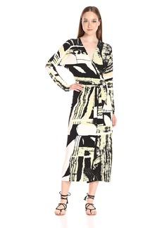 Norma Kamali Women's Dolman Wrap Dress