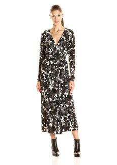 Norma Kamali Women's Dolman Wrap Dress  L