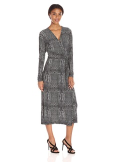 Norma Kamali Women's Dolman Wrap Dress  M
