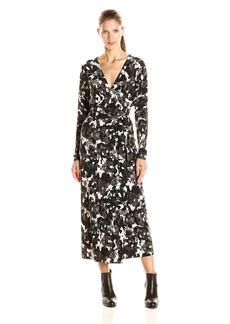 Norma Kamali Women's Dolman Wrap Dress  S