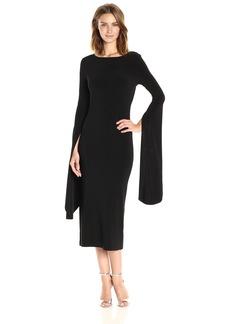 Norma Kamali Women's Draped Low Back Dress  L