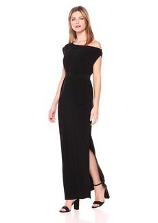 Norma Kamali Women's Drop Shoulder Gown  L