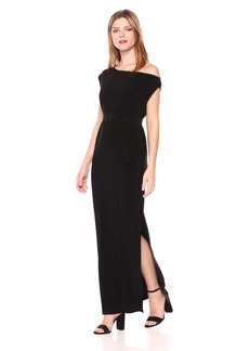 Norma Kamali Women's Drop Shoulder Gown  XS