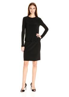 Norma Kamali Women's Long Sleeve Babydoll Dress  XS