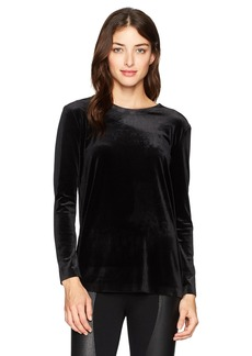 Norma Kamali Women's Long Sleeve Crew Top  L