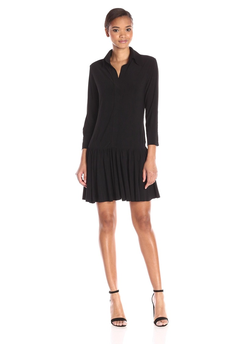 Norma Kamali Women's Nk Ra Shirt Dress