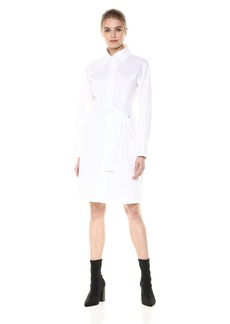 Norma Kamali Women's Nk Shirt Dress to Knee  L