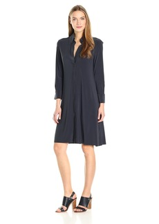 Norma Kamali Women's Nk Shirt Swing Dress to Knee  L