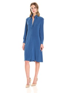 Norma Kamali Women's Nk Shirt Swing Dress to Knee  XS