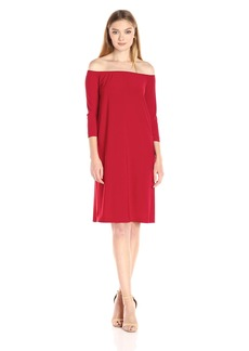 Norma Kamali Women's Off Shoulder Dress  L