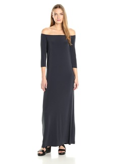 Norma Kamali Women's Off Shoulder Gown  M