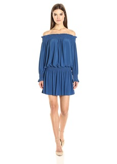 Norma Kamali Women's Peasant Dress  M