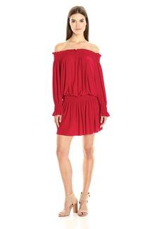 Norma Kamali Women's Peasant Dress  XS