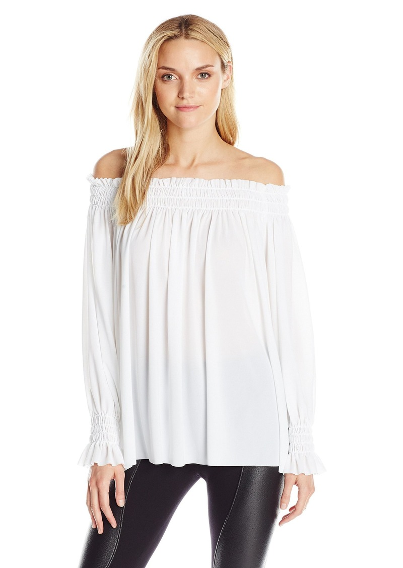 Norma Kamali Women's Peasant Shirt