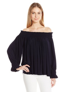 Norma Kamali Women's Peasant Top  XS