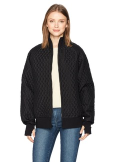 Norma Kamali Women's Quilted Bomber Jacket  M
