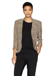 Norma Kamali Women's Short Single Breasted Jacket  XL