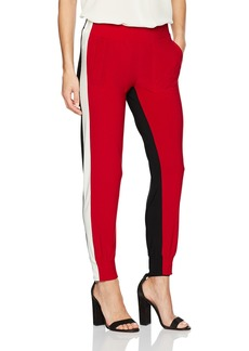 Norma Kamali Women's Side Stripe Jog Pant Combo  XL