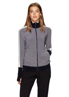 Norma Kamali Women's Side Stripe Turtle Jacket  S
