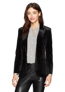 Norma Kamali Women's Single Breasted Jacket Bl  M