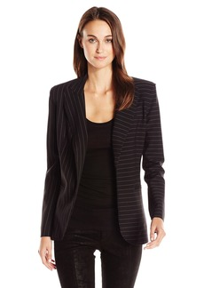 Norma Kamali Women's Single Breasted Jacket Bonded