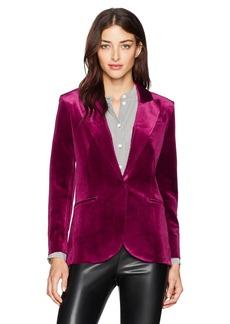 Norma Kamali Women's Single Breasted Jacket Bu  S