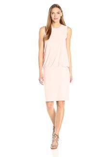 Norma Kamali Women's Sleeveless Babydoll Dress  L