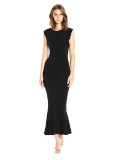 Norma Kamali Women's Sleeveless Midcalf Fishtail Dress  M
