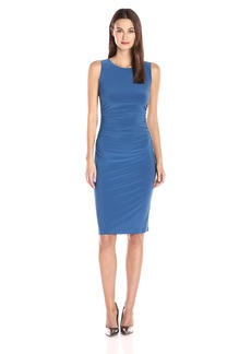 Norma Kamali Women's Sleeveless Shirred Waist Dress  S