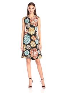Norma Kamali Women's Sleeveless Swing Dress Bonded  S