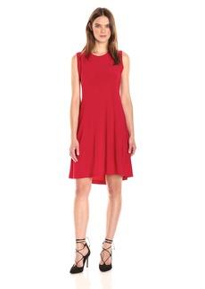 Norma Kamali Women's Sleeveless Swing Dress  L