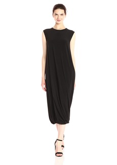 Norma Kamali Women's Sleeveless Twist Midcalf Dress  XS