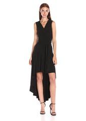 Norma Kamali Women's Sleeveless Wrap Dress Flared