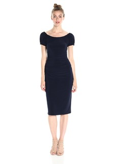 Norma Kamali Women's Sophia Shirred Waist Dress  XS