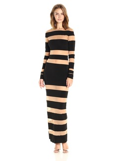 Norma Kamali Women's Spliced Dress  S