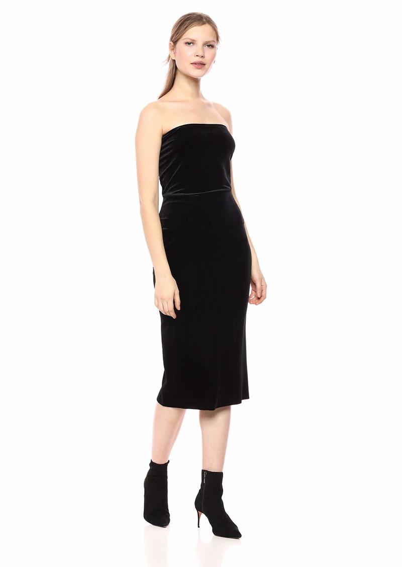 Norma Kamali Women's Strapless Dress  L