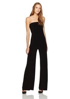 Norma Kamali Women's Strapless Jumpsuit  XL