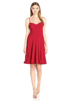 Norma Kamali Women's Underwire Dress to Knee  L