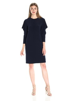 Norma Kamali Women's Wing Sleeve Dress  L