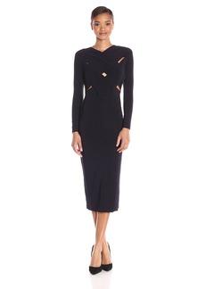 Norma Kamali Women's X Cross Midcalf Dress