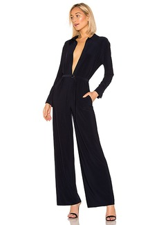 Norma Kamali x REVOLVE Shirt Straight Leg Jumpsuit